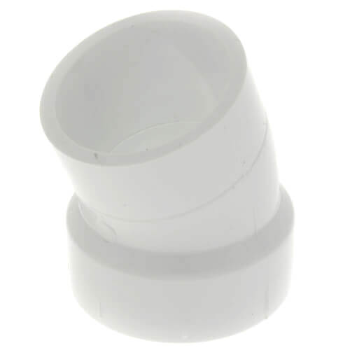 "8"" PVC DWV 22.5° Street Elbow Product Image"