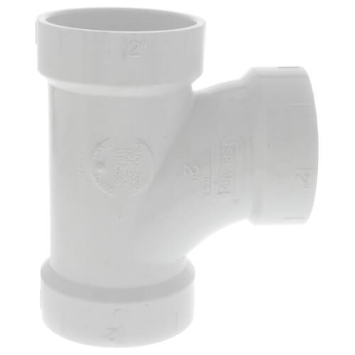 "2"" PVC DWV Sanitary Tee Product Image"