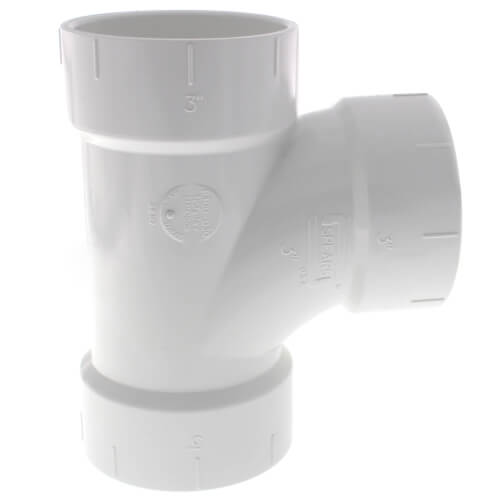 "3"" PVC DWV Sanitary Tee Product Image"