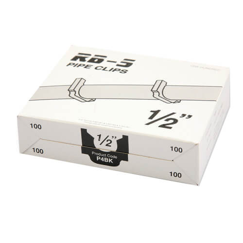 """Box of 100 Stand-off Clips for 1/2"""" PEX Product Image"""