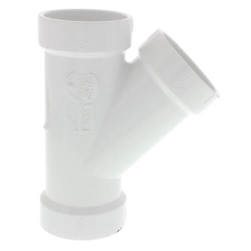 """2"""" PVC DWV Wye Product Image"""