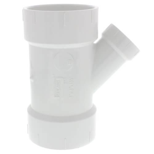 "3"" x 3"" x 1-1/2"" PVC DWV Wye Product Image"