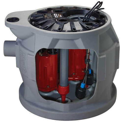 """Pro680 1/2 HP Compact Duplex System - 230V - 2"""" Discharge w/ Indoor Controller Product Image"""
