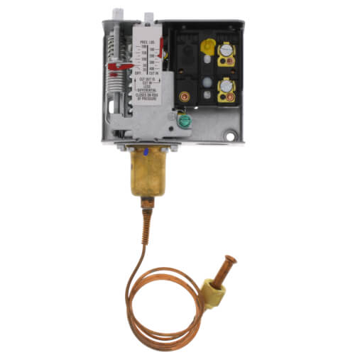 "Pressure Fan Cycling Control w/ 1/4"" External Flare Connector (100/400 psig) Product Image"
