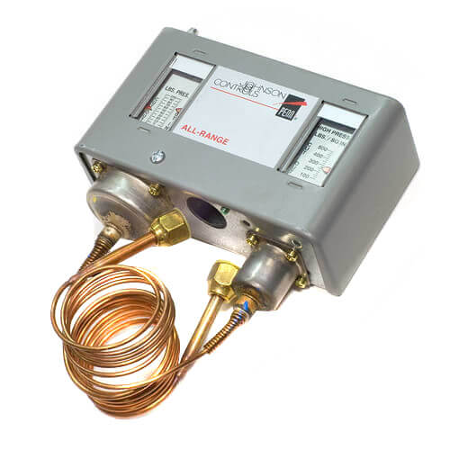 Dual Pressure Control, High Range: 100 to 500 PSIG; Low Range 7 to 50 PSIG Product Image