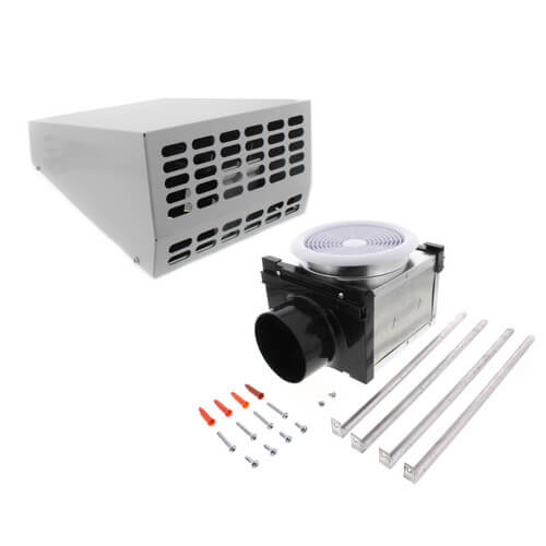 """PBW110 Exterior Wall Mount Bath Fan, 4"""" Duct (Vent Only) Product Image"""