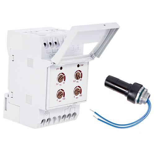 LightMaster 2 Circuit Control Module w/ LS2 Dark Sensor, 10A (120V) Product Image