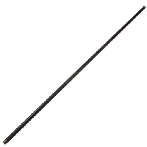 """1/2"""" x 60"""" Black Nipple Product Image"""