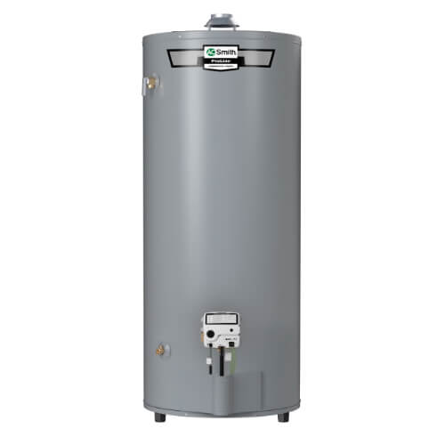 74 Gallon ProLine High Recovery 10 Yr Warranty Residential Water Heater w/ Side-Mounted Taps (Nat Gas) Product Image