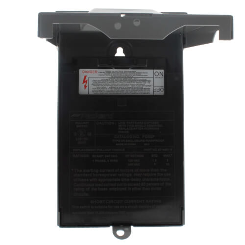 60A Fused A/C Disconnect (240V) Product Image