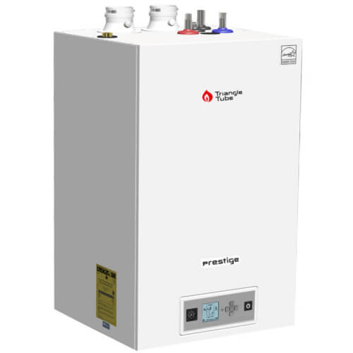 86,000 BTU Output Prestige Excellence 110 Condensing Boiler w/ Built-In Indirect Water Heater & TriMax Control (NG/LP) Product Image