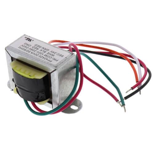 Foot Mounted 120/208-240V (Primary) 24V (Secondary) 20VA Transformer Product Image