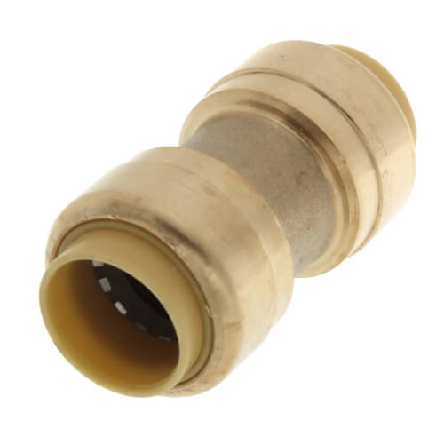 """1/2"""" Push Fit Coupling (Lead Free) Product Image"""
