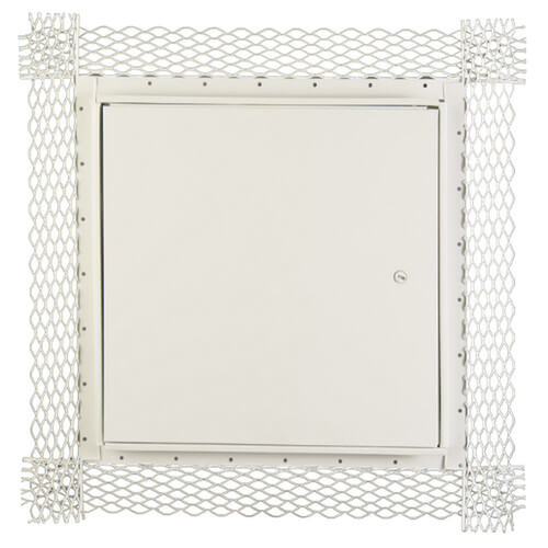 """14"""" x 14"""" DSC-214PL Flush Access Door for Plastered Surfaces (Steel) Product Image"""