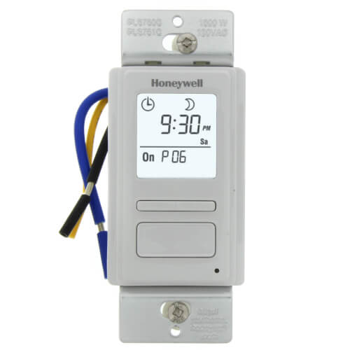 EconoSwitch 7-Day Programmable Wall Switch w/ Solar Timetable (White) Product Image