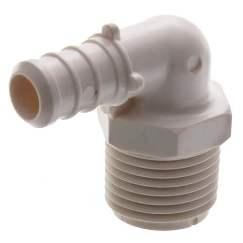 "1/2"" PEX x 1/2"" MPT PolyAlloy Crimp Elbow Product Image"