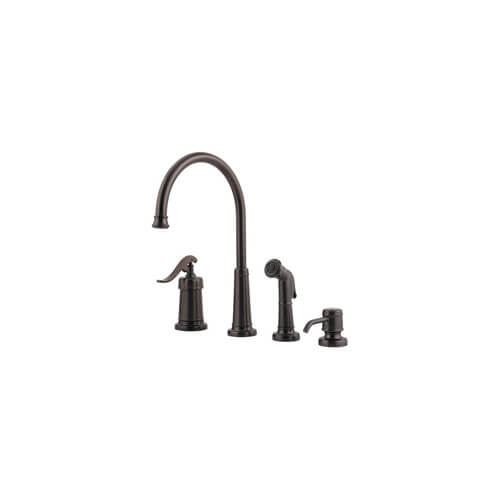 T26 4ypz Pfister T26 4ypz Oil Rubbed Bronze 4 Hole Kitchen