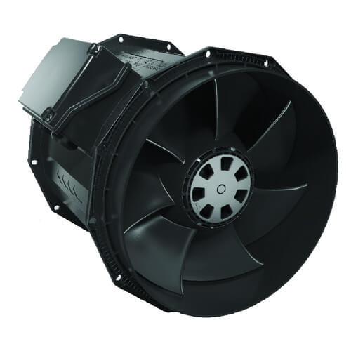 Inline Duct Fan with AC Motor, 304 W, 2.63 A, 2920 RPM (120V) Product Image