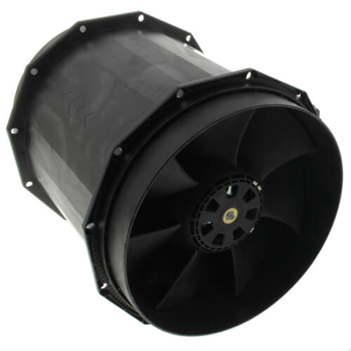 Inline Duct Fan with EC Motor, 132 W, 1.80 A, 3700 RPM (120V) Product Image