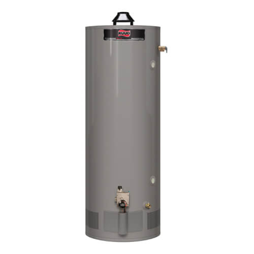 PRO+G75-76N RU 75 Gallon 76,000 BTU Tall Professional Achiever Plus Atmospheric Heavy Duty Water Heater, 8 Year (NG) Product Image