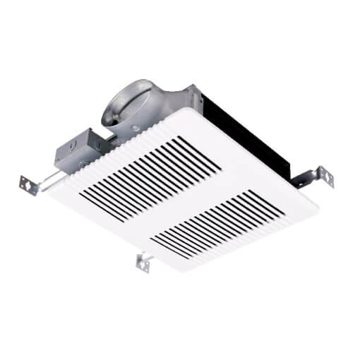 "PRO Series Low Profile Bath Exhaust Fan, 4"" Duct, 100 CFM, 120V Product Image"