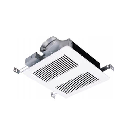 """PRO 80 Quiet Surface Mounted Exhaust Fan, 4"""" Duct - 80 CFM Product Image"""