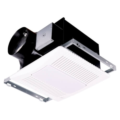 "ProPLUS Series Bath Exhaust Fan w/ LED Light, 6"" Duct, 80-140 CFM, 120V Product Image"