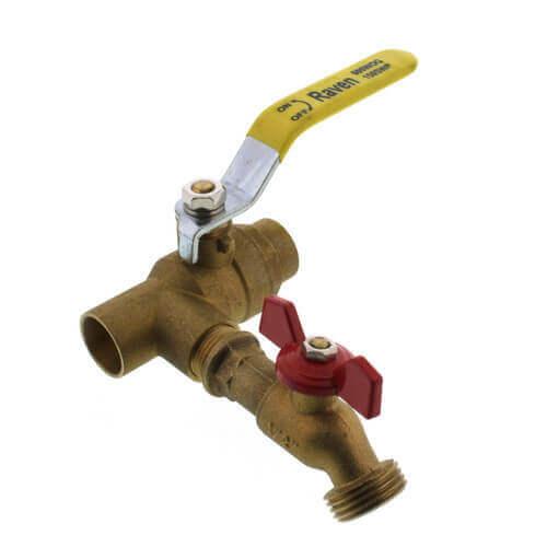 "3/4"" C x F Purge Station w/ Boiler Drain Product Image"