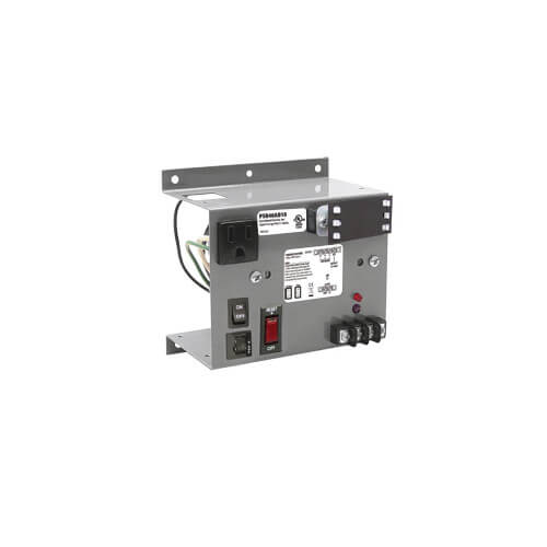 Panel Mount Single 40VA Power Supply, 120 Vac to 24 Vac Product Image