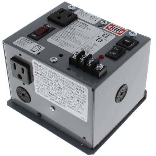 Enclosed Single 100VA Power Supply, 120 Vac to 24 Vac Product Image