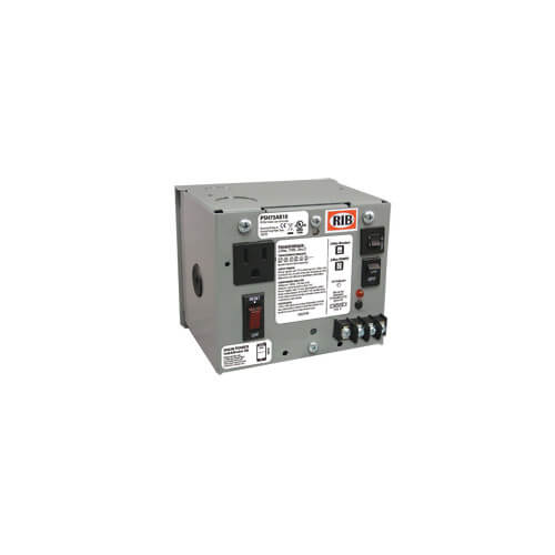 Enclosed Single 75VA Multi-Tap UL Class 2 Power Supply, 480/277/240/208/120 to 24 Vac Product Image