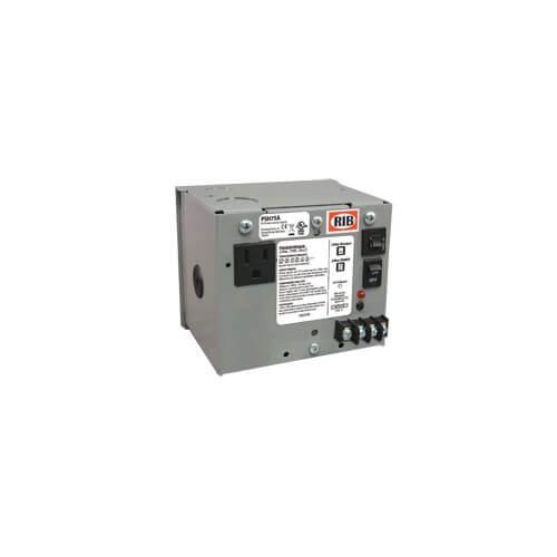 Enclosed Single 75VA Power Supply, Multi-tap to 24 Vac Product Image