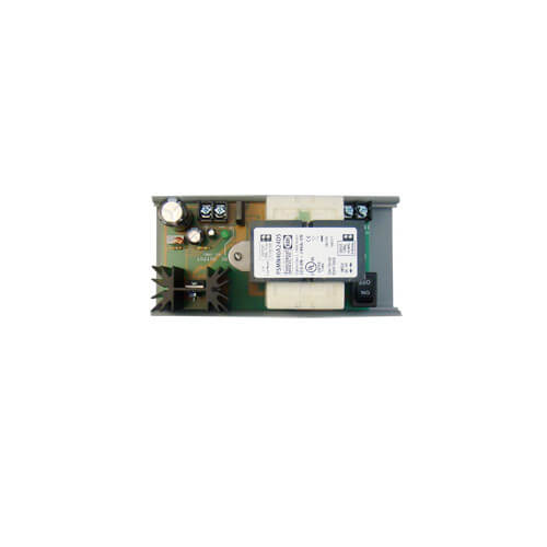 """2-3/4"""" Track Mount Isolated Linear DC Power Supply, 120 Vac to 24 Vdc, 1 Amp Product Image"""