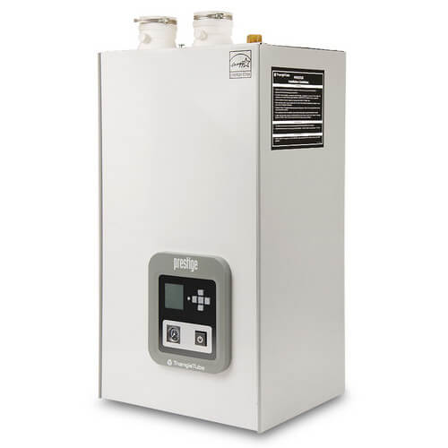 76,000 BTU Output Prestige Excellence Condensing Boiler w/ Built-In Indirect Water Heater & TriMax Control (LP) Product Image