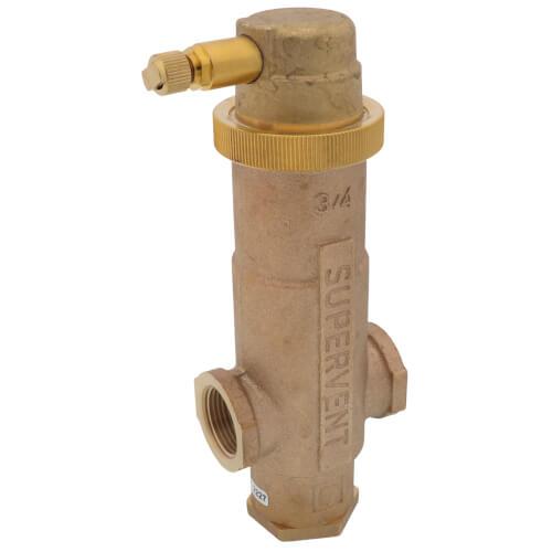 "3/4"" NPT Supervent Air Eliminator Product Image"