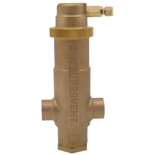 "3/4"" Sweat Supervent Air Eliminator Product Image"