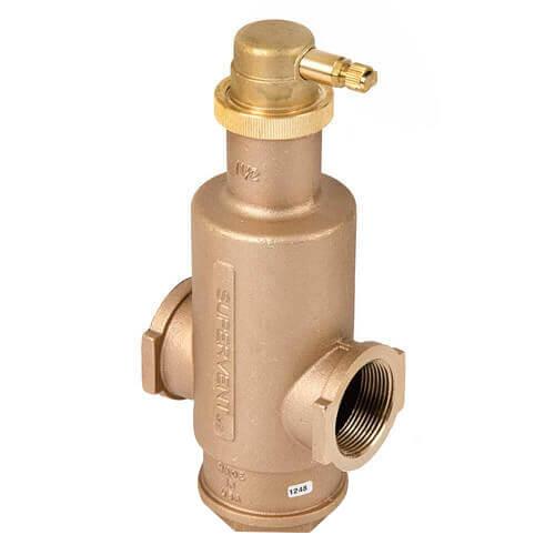 "1-1/2"" NPT SuperVent Air Eliminator Product Image"