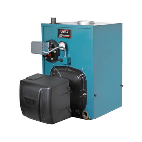 PV8H3, 109,000 BTU V8H Water Boiler w/ Tankless Coil w/ Beckett Burner (Oil) Product Image