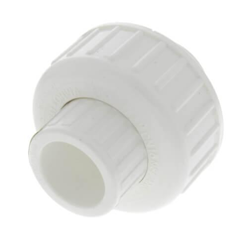 "1/2"" PVC Sch. 40 Socket Union w/ Buna O-ring Product Image"