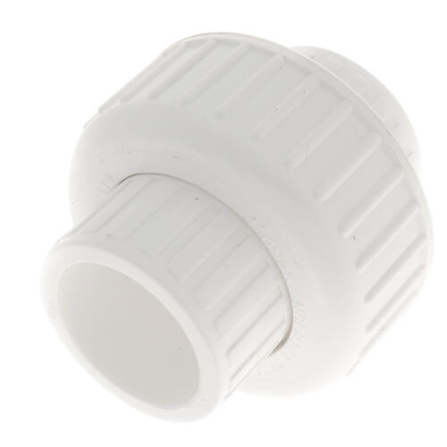 "1"" PVC Sch. 40 Socket Union w/ Buna O-ring Product Image"