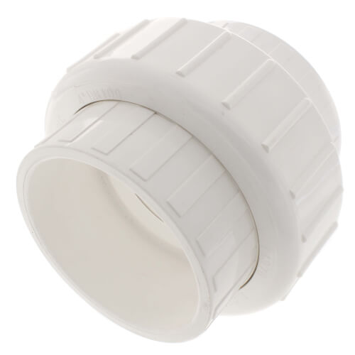 "4"" PVC Sch. 40 Socket Union w/ Buna O-ring Product Image"