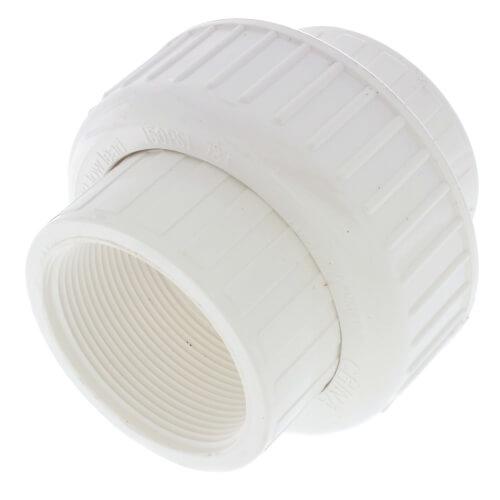"2"" PVC Sch. 40 Female Union w/ Buna O-ring Product Image"
