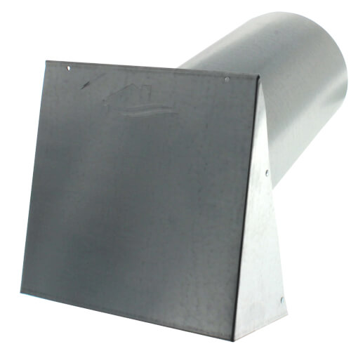 "PWC6R 6"" Galvanized Steel Wall Cap Product Image"