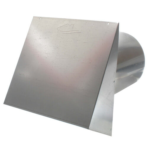 "PWC8R 8"" Galvanized Steel Wall Cap Product Image"
