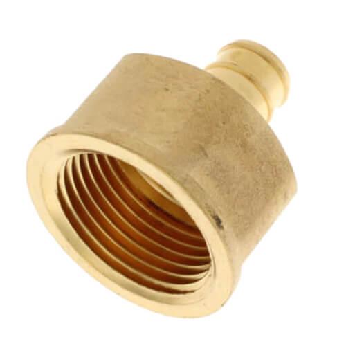 "1/2"" PEX x 3/4"" NPT Brass Female Adapter (Lead Free) Product Image"