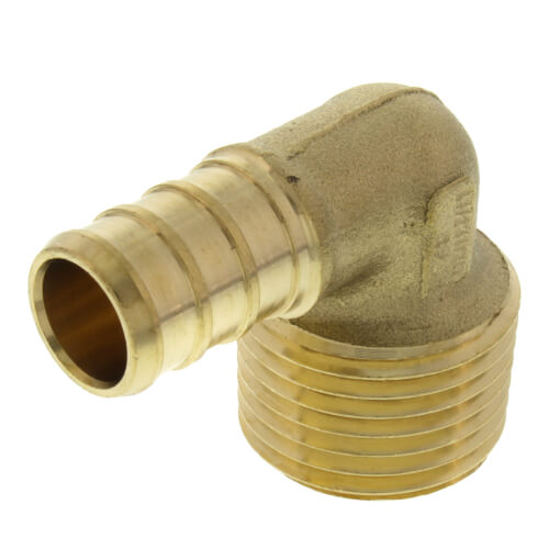 "25-Pack Bluefin PXFE050 1//2/"" PEX x FNPT Threaded Elbow Lead Free Brass"