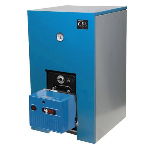 Fine oil boiler high efficiency model electrical circuit for Kosco fuel