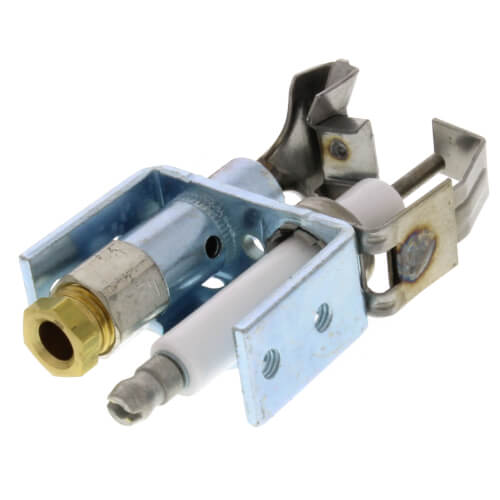 Universal Intermittent Pilot Burner for NG/LP w/ Batwing Style Hood Product Image