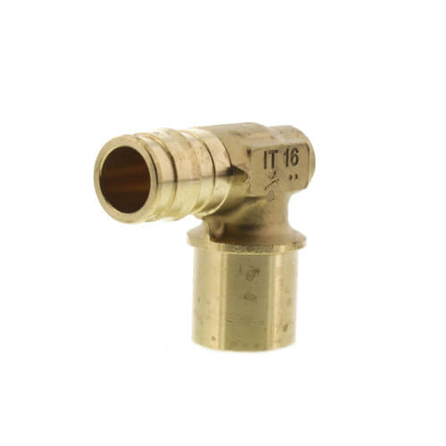 """ProPEX Baseboard Elbow, 5/8"""" PEX x 3/4"""" Copper Fitting Adapter Product Image"""