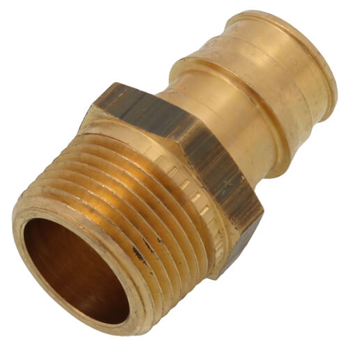 "3/4"" ProPEX x 3/4"" NPT Brass Male Adapter Product Image"